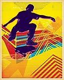 eBook Gratis da Scaricare Wheatpaste Art Collective skate Heist neon Deux su tela artistica di pasta Face 24 da 76 2 cm (PDF,EPUB,MOBI) Online Italiano