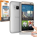 Orzly® - FlexiSlim Case for HTC ONE M9 - Super Slim (0.35mm) Case / Cover / Shell / Hülle / Handytasche in Semi Transparent WEIß - Entwurf exklusiv für HTC ONE M9 SmartPhone / Phablet / Mobille Handy (2015 Modell)