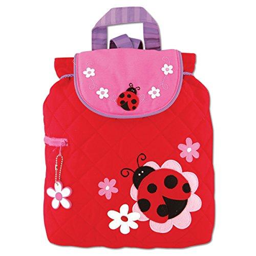Preisvergleich Produktbild Stephen Joseph Children's Quilted Backpacks Kinder-Rucksack,  33 cm,  2 liters,  Rot (Red)