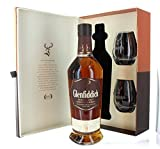 Glenfiddich 18 Year Gift Set with 2 tumbler glasses 0.7 Litres LIMITED EDITION