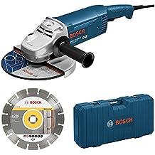 Bosch M294478 - Amoladora gws 22-230jh 2200w con disco diamante professional