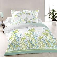 Purity - SoulBedroom Juego de cama, 100% Algodón (funda de edredón 240x220 cm y 2 fundas de almohada 65x65 cm) / cama de 150 cm (matrimonio)