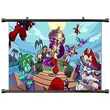 Shantae: half-genie Hero Game Fabric Wall Scroll Poster (32x 18) inches