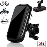 Ceuta Retails, Touch-Friendly Bike/Bicycle Mobile Mount for Motorcycle with Waterproof Case - Holds