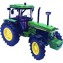 Britains - Tractor John Derre 3350, color verde, amarillo y negro (TOMY 42903)