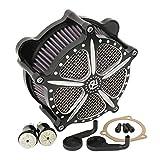 Motorrad modifizierte Einlassfilter Luftfilter Luftfilter für Harley Dyna Softail Touring Fat Boy...