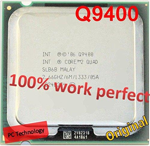 Liku Technik beste Qualität für Core 2 Quad Q9400 CPU-Prozessor (6M-Cache, 2,66 GHz, 1333 MHz FSB) LGA775 CPU Desktop-Freies Verschiffen