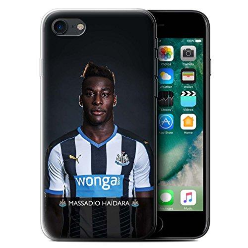Offiziell Newcastle United FC Hülle / Gel TPU Case für Apple iPhone 7 / Wijnaldum Muster / NUFC Fussballspieler 15/16 Kollektion Haïdara