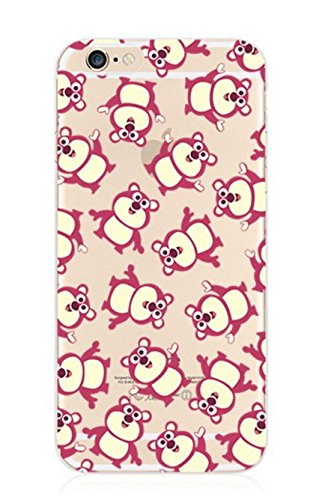 Phone Kandy® Clear/Transparent klar/durchsichtig hard case for iPhone Cartoon Hülle Abdeckung Haut tascen (iPhone 6 6s (4.7 Zoll), Snoopy & Woodstock) Lotso