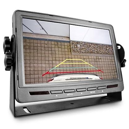 Carmedien-Rckfahrsystem-CM-RFSN2K2-mit-2-weien-Rckfahrkameras-Rckfahrvideosystem-mit-zwei-Farbkameras-12V-24V