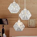 Lámpara de techo Araña (Diseño Moderno 3E27Metal Colgante Leuchten comedor...
