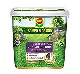 COMPO FLORANID Rasend nger gegen Unkraut Moos Komplett Pflege, 3 Monate Langzeitwirkung, Feingranulat, 9 kg, 300m