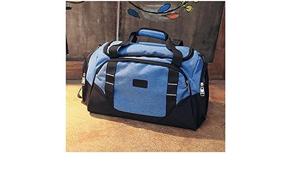 JxucTo Borsone sportivo per borsa da palestra grande capacità all aperto  con borsone da viaggio Weekender Duffel Bag (blu)  Amazon.it  Sport e tempo  libero 7ad76a54ae8