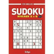 Sudoku 270 grilles : Niveaux 3 à 6 Volume 2