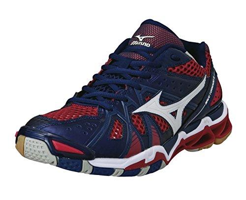 Mizuno  Wave Tornado 9, Chaussures de Volleyball homme - marine - rot - weiß