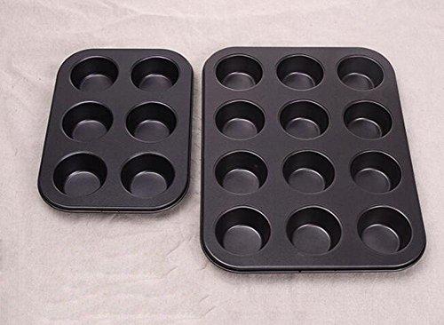 KAOPAN Rectangular pequeña torta para hornear pan hogar antiadherente herramientas de la...