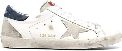 Golden Goose Luxury Fashion Uomo GMF00102F00034010279 Bianco Pelle Sneakers | Ss21