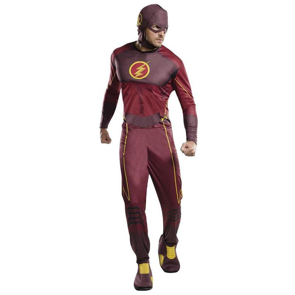 Rubie's DC Comics Classic Herren Kostüm The Flash Karneval Fasching Gr.XL