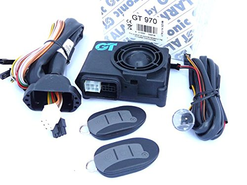 Alarma moto GT970, profesional, bajo consumo, con esquema electrico en Español