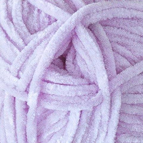 James Brett Flutterby Super Soft Chunky Knitting Wool 100g Ball Craft or Toy Yarn (Lilac - B10)