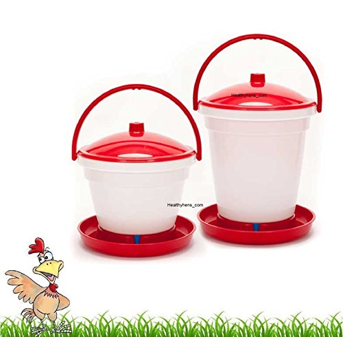 Easy Fill Easy Clean Automatic Poultry Bucket Drinker 12L 18L Chicken Water Feed (12L) Test