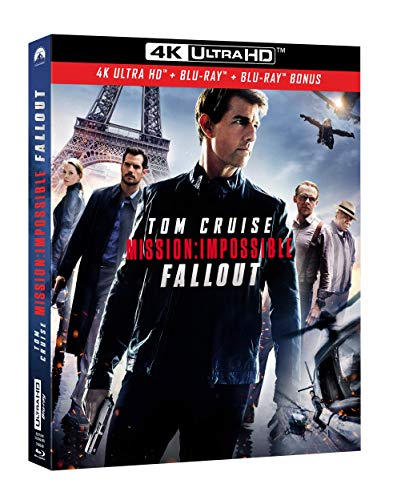 Mission : Impossible - Fallout [4K Ultra HD + Blu-ray + Blu-ray Bonus]
