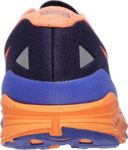 Zapatillas Para Correr Skechers Go Meb Speed - Aw17 Azul / Naranja