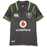 CANTERBURY Irland Offizielles 17/18 Junior Kinder Rugby Short Sleeve Away Pro Jersey