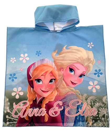 Disney-Frozen-Sofia-the-First-Hooded-Poncho-Beach-Towel-Swim-Cover-Up-Childrens-Kids-Girls-One-Size