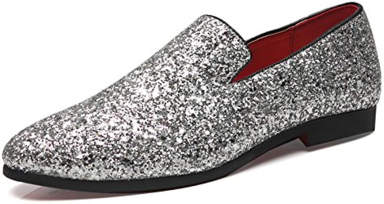 Zapatos Casual de Hombre Zapatos de Lentejuelas -