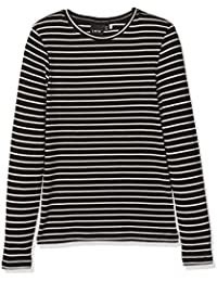 NAME IT Mädchen Langarmshirt Nitoxana Ls Stripe Top F Lmtd