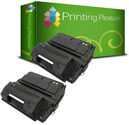 Printing Pleasure 2 Toner kompatibel für HP Laserjet 4200 4240 4250 4350 - Schwarz, hohe Kapazität (4200 Hp Toner Laserjet)