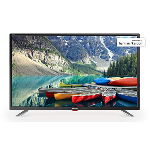 Sharp LC-32FI5342KF 32 Inch Full HD LED Smart TV with Freeview Play - Black (2018 model) (Certified Refurbished)