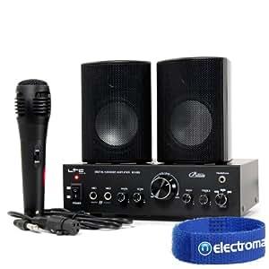 LTC Audio Karaoke Amplifier Speaker System + Microphone Set