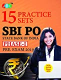15 PRACTICE SETS SBI PO STATE BANK OF INDIA PHASE-I PRE. EXAM 2019 With Solved Paper 2018