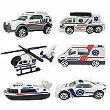 Wiki Geschenke für 2-6 Jahre alte Jungen, Mini-Rennwagen Spielset Geschenke für 2-6 jährige Kinder Spielzeug für 2-6 jährige Jungen Grils Blau WKUKTTC02