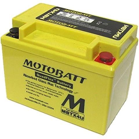 Derbi GPR 50 Race Replica MBTX4U batteria moto 2002-2003