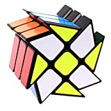 AimdonR Speed Cube Windmühle 3x3x3 Magic Cube Twisty Cube Puzzle para el Desarrollo de la Inteligencia de los niños