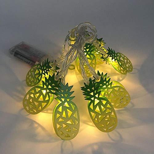 3,3 meter 20 lichter schmiedeeisen batterie led lichter weihnachtsbeleuchtung lichterketten nachtlicht 5