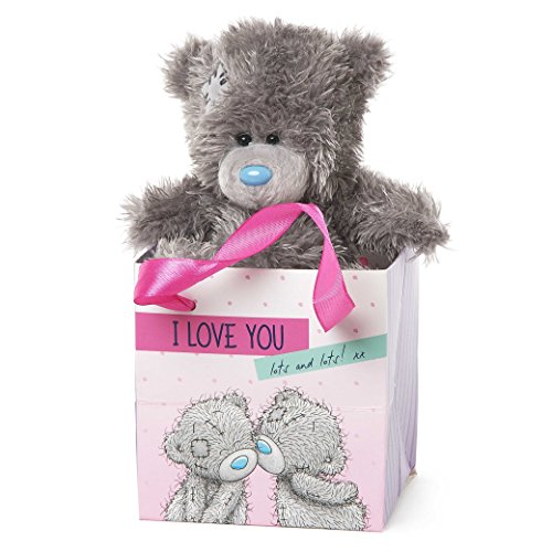 Me To You Tatty Teddy bear in a I Love You Lots and Lots Gift Bag