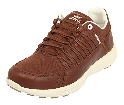 Supra Owen, Baskets Basses Mixte Adulte Marron