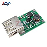 2V-5V bis 5V 1200MA USB-Ausgang Boost-Konverter Mini DC-DC Step-Up Power-Modul Lithium-Akku-Ladegerät-Board für Telefon Kamera
