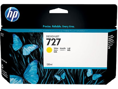 Hp Designjet Tinte Gelb (HP 727 Gelb Designjet Tintenpatrone, 130ml)