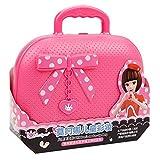 AOLVO Kit di Bellezza Playset,Set Trucchi Giocattolo Bambina,Valigetta Trucchi Bambina,Kit di Bellezza per Bambini Giochi di Ruolo