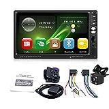 7 pollici HD Touch Screen Car MP5 Player, Connessione Wireless Car Radio Media Player Supporto TF Card, Radio FM Stereo, Ricarica Cellulare, Ingresso AUX, 1080P Film HD Visualizzazione