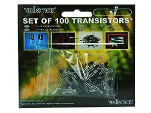 Assortiment de 100 transistors Conditionnement: 1 set Velleman K/TRANS1