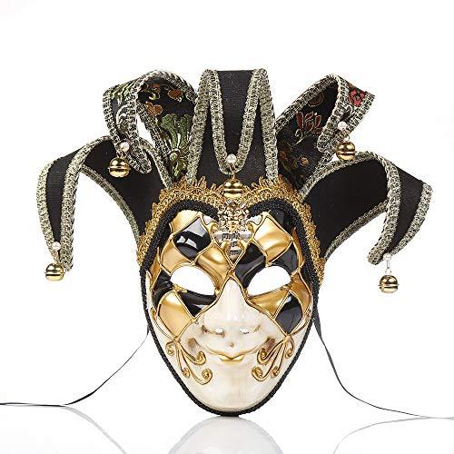 ZAMAC Weihnachten Maske Herren Gruselige Blutige Maskerade Neuheit -
