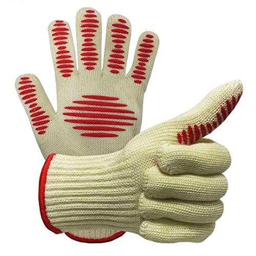 Yyzhx Handschuhe Silikon thermische Isolierung beständig Hochtemperatur Küche Handschuhe Anti-Bügeleisen/Anti-Rutsch Wuzhishan Handschuhe -