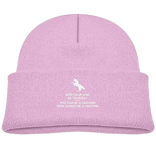 Always Be Yourself Unless You Can Be A Unicorn Beanie Winter Cap for Baby