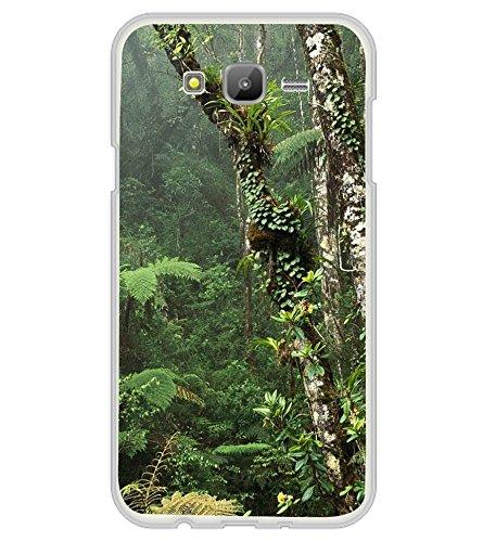 Fuson Designer Back Case Cover for Samsung Galaxy J7 J700F (2015) :: Samsung Galaxy J7 Duos (Old Model) :: Samsung Galaxy J7 J700M J700H (jungle forest woodland wildwood green )